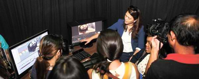 Film and media arts school starts rolling