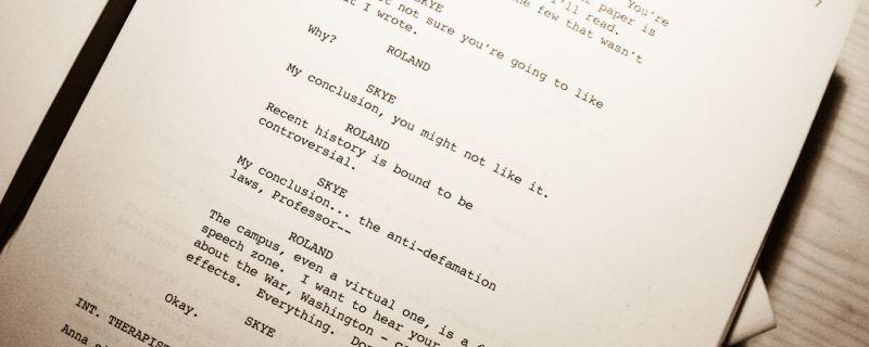 Tips for Aspiring Scriptwriters